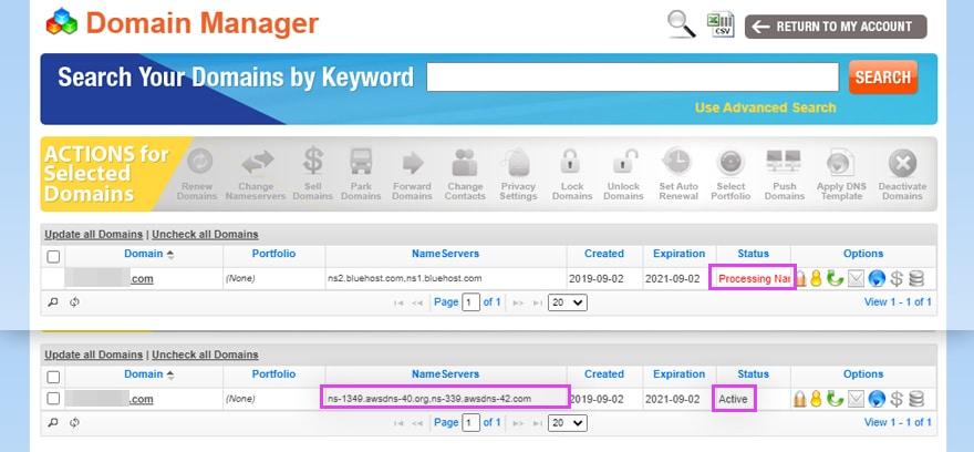 DNS 서버 주소 변경 확인